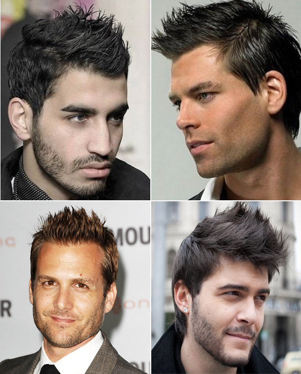 Spiked Mens Hair