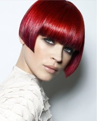 red hair cut on Cleopatra