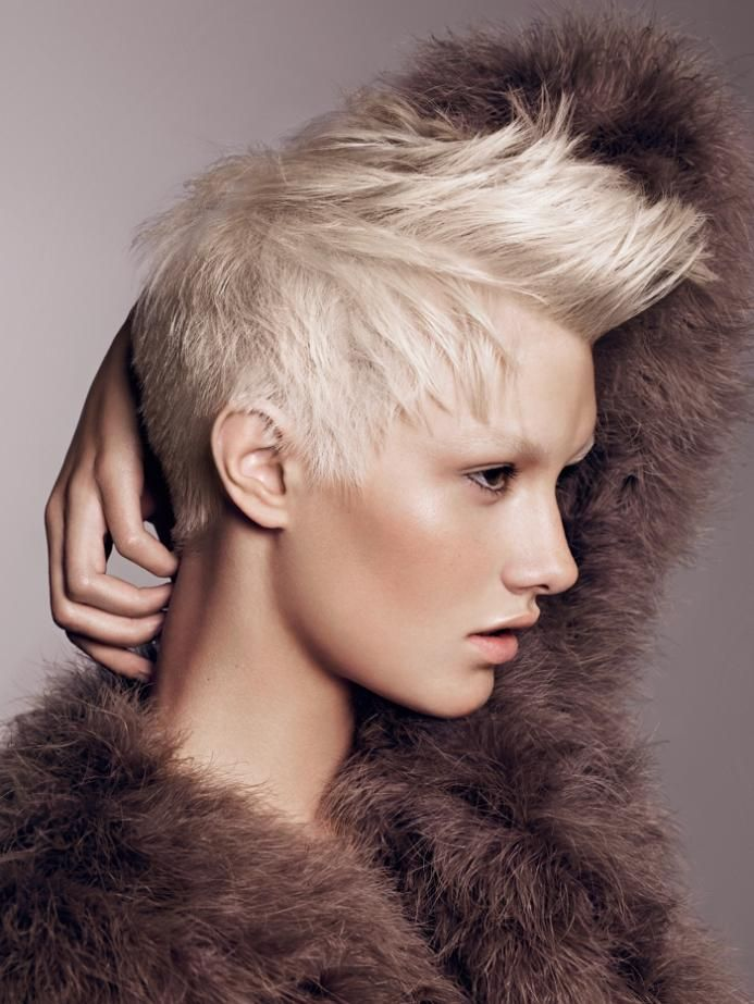 blond short spiky hairstyle | Hairstyles | Hair-photo.com