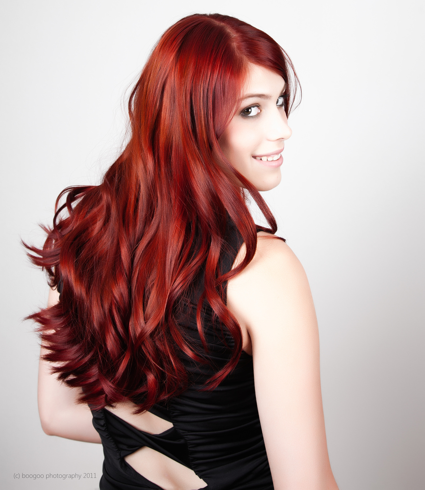 Fantastic Long Dark Red Hair Hairstyles Hair Photo Com Short Hairstyles Gunalazisus