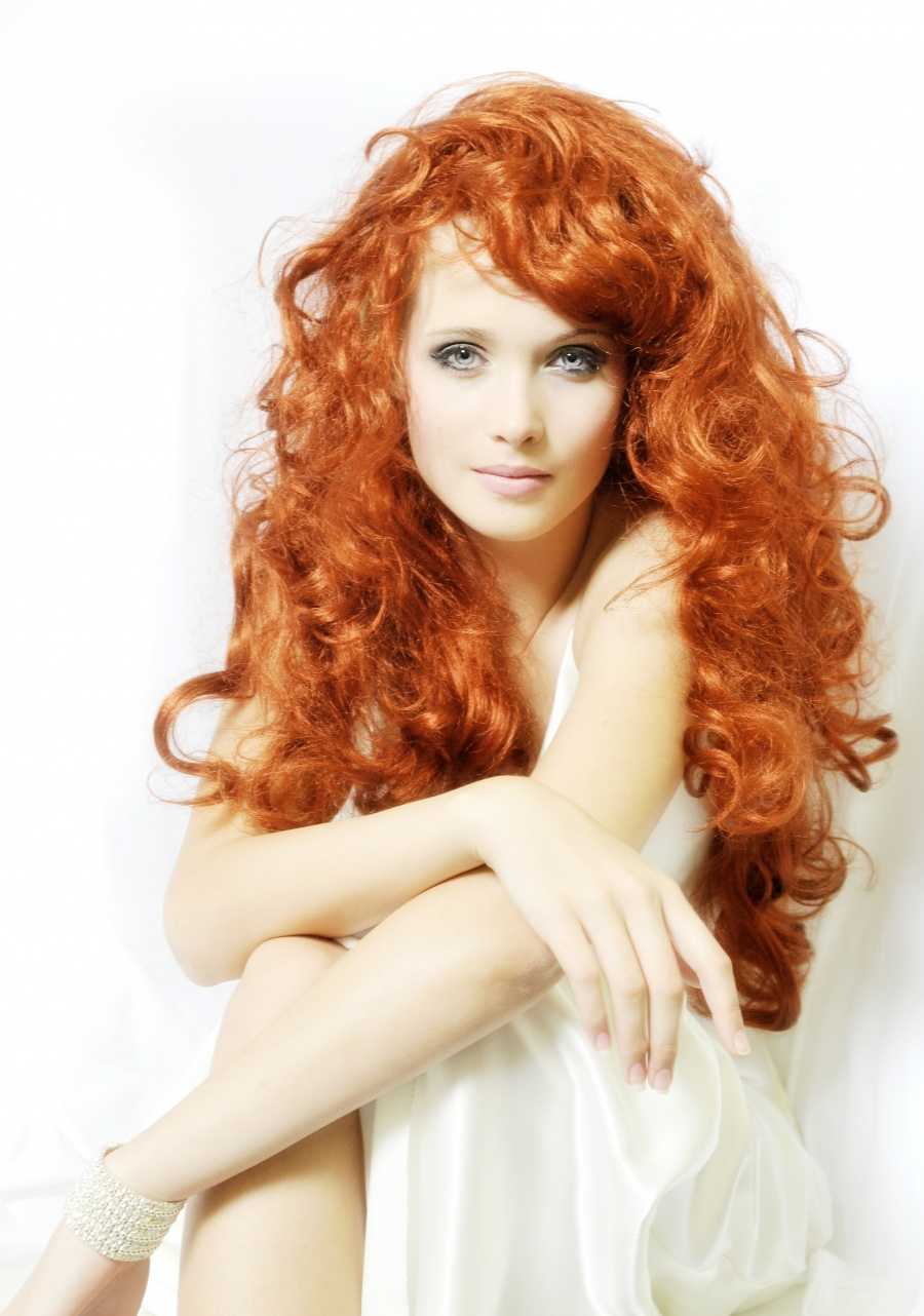 current hairstyle trends : beautiful long and curly red hair Hairstyles Hair-photo.com