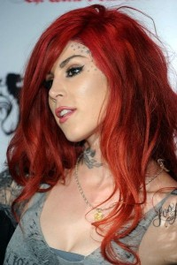 red hair Kat Von D