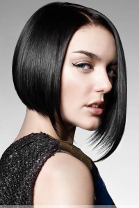 stylish black hair bob all equal