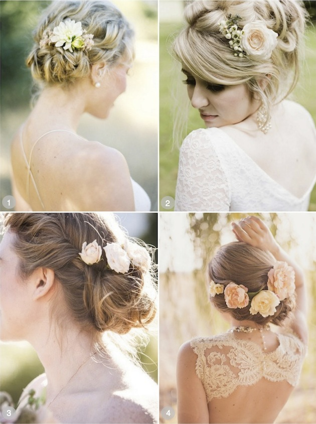 Wedding Hairstyles With Flowers Hairstyles Hair Photo Com