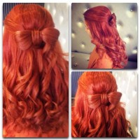 natural red hair curly