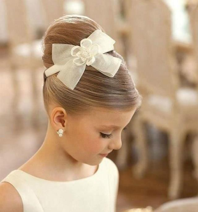 communion hairstyle