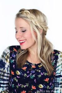 Lace Crown Braid Tutorial