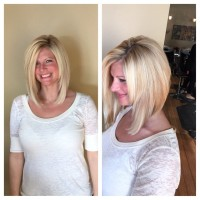 Long Cut With Layered Face Framing