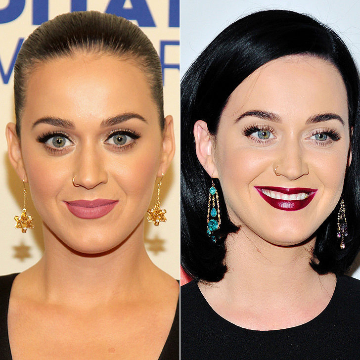 Celebrity Hairstyle Changes | Katy Perry
