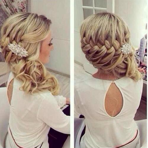Fishtail Braided Wedding Hairstyle | Hairstyles | Hair-photo.com