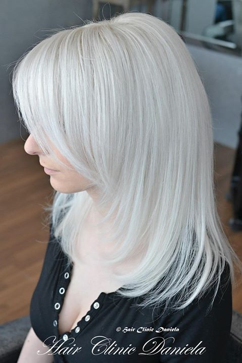 Beautiful Platinum Blond Hairstyles Hair Photo Com