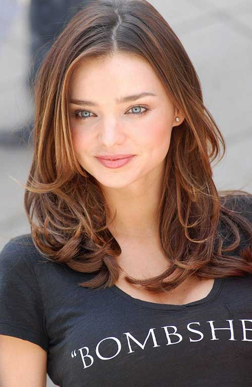 Brown Layered Haircut For Straight Hair Hairstyles Hair Photo Com