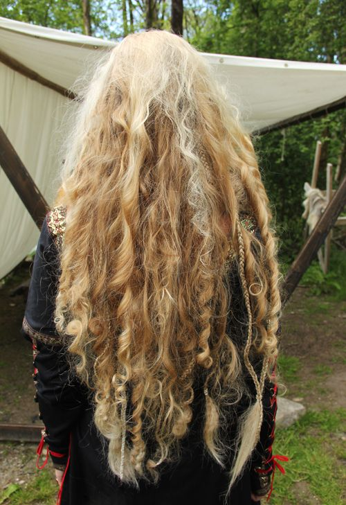 incredibly long hair