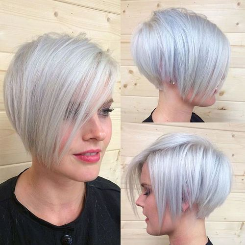 Short Blond Hair Bob Hairstyles Hair Photocom
