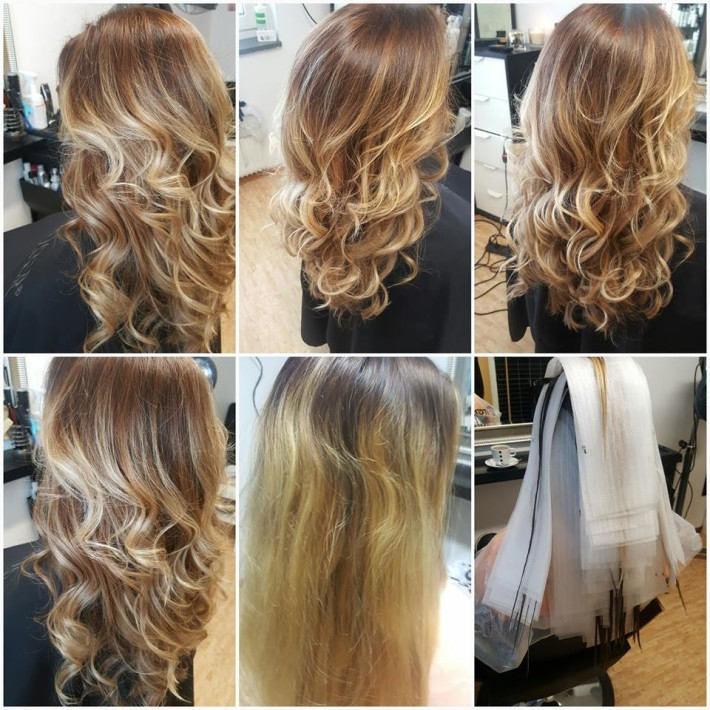 Long Blond Hair With Curls And Highlights Hairstyles Hair Photo