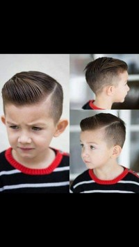 High fade hairstyle for young boys
