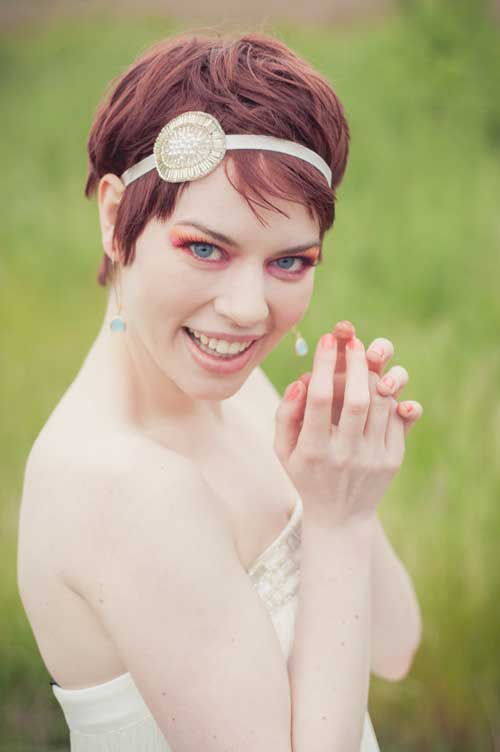 Short Messy Pixie Hairstyle For Wedding Hairstyles Hair Photo Com