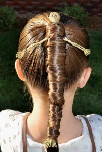 hallowen hairstyle for girls