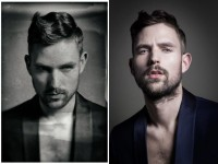 Short haircut for men with high fade and textured fringe