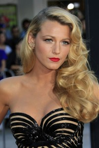Blake Lively's hairstyle