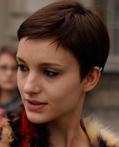 Short Pixie Red Hairstyle Hairstyles Hair Photo