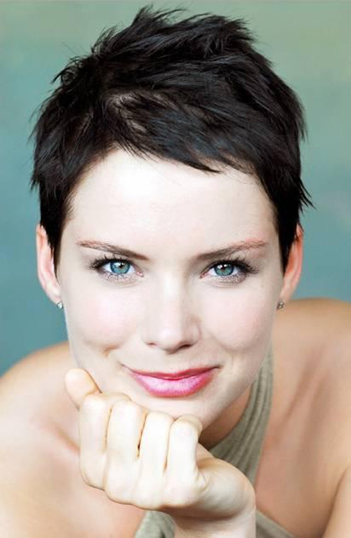 Short Choppy Pixie Haircut Hairstyles Hair Photo