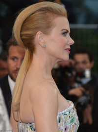Nicole Kidman's hairstyle for blonde women
