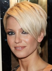 Short, classic, pixie style