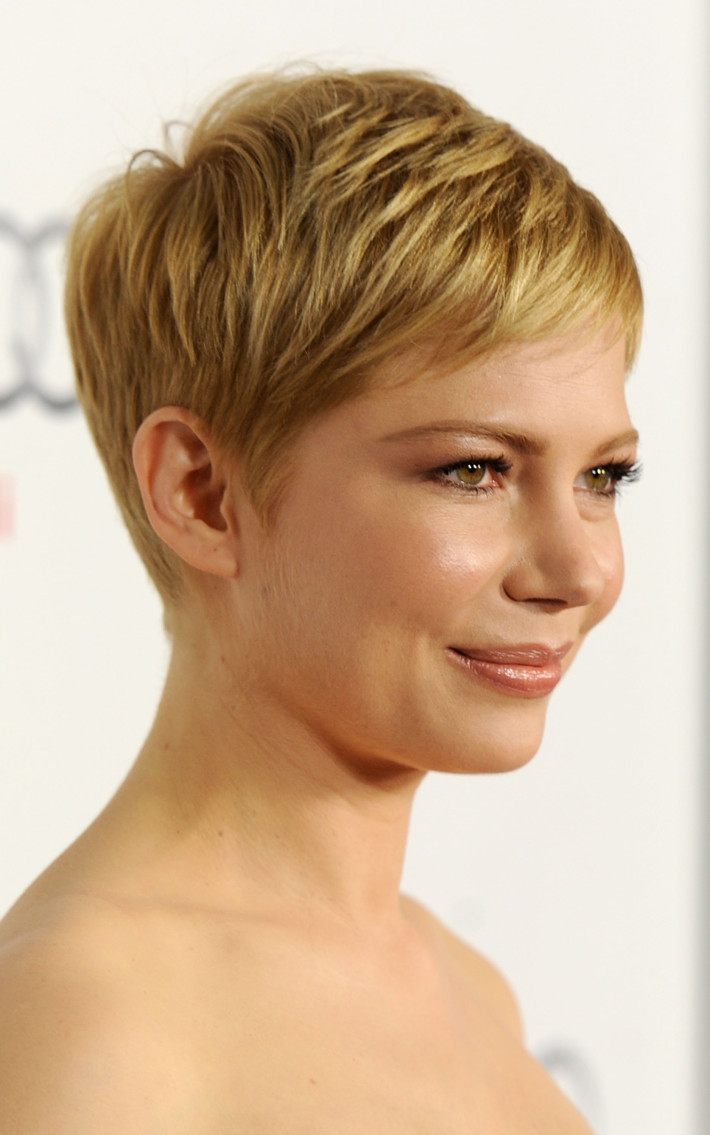 Short Classic Pixie Choppy Haircut Hairstyles Hair Photo