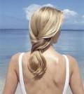 Hair sun summer