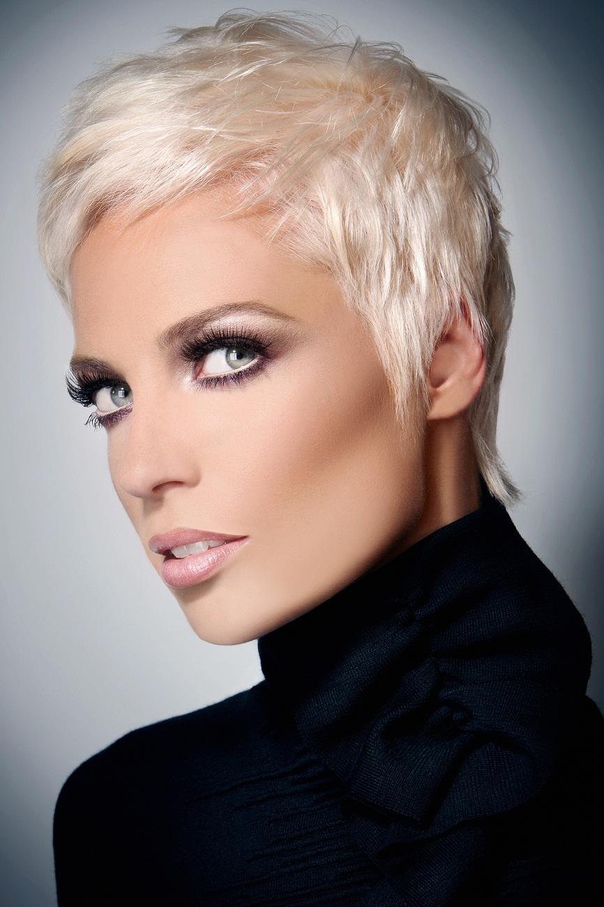 Super short hair ash blonde   Hairstyles   Hair-photo.com