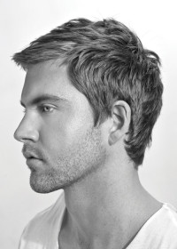 Simple hairstyle for men