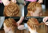 Basket braids for girls