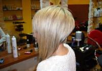 Short, bob hairstyle for blonde hair